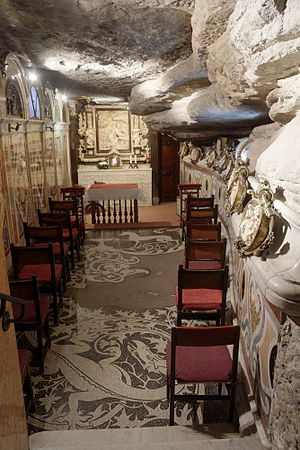 Ignatius of Loyola - Manresa, Chapel in the Cave of Saint Ignatius where Ignatius practised ascetism and conceived his Spiritual Exercises