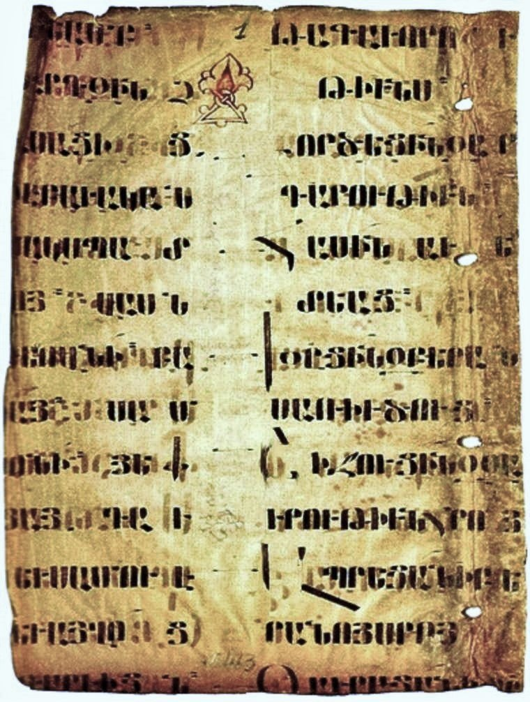 Manuscript arm 5-6AD