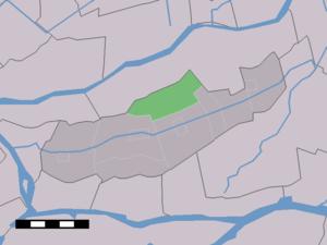Brandwijk - Image: Map NL Graafstroom Brandwijk