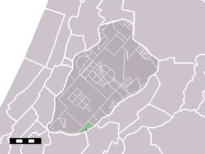 Weteringbrug - Image: Map NL Haarlemmermeer Weteringbrug