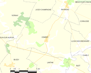 Map commune FR insee code 18173.png