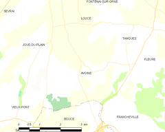 Map commune FR insee code 61020.png