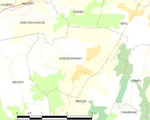 Map commune FR insee code 74144.png