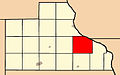 Map highlighting Washington Township, Jackson County, Iowa.jpg