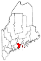 Map of Maine highlighting Knox County.png