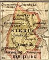 Map of Sikkim, 1907-bengal-sikkim3 (cropped).jpg