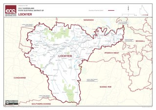Electoral district of Lockyer state electoral district of Queensland, Australia