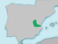 Mapa Chondrostoma arrigonis.png