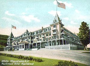 Bethlehem, New Hampshire - The Maplewood Hotel c. 1905