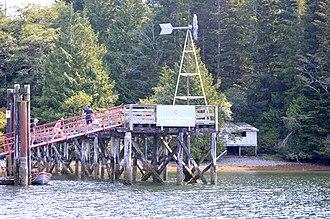 Hot Springs Cove, British Columbia - Dock at Hot Springs Cove