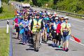 Marcha a pié desde Oviedo a Covadonga del C.A.O. 2014 02.jpg