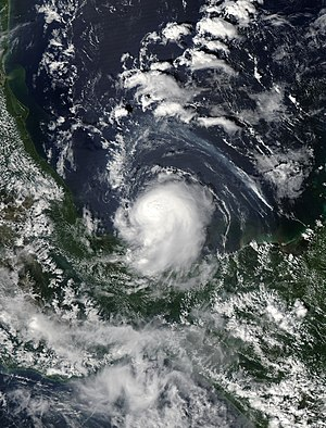 Tropical Storm Marco (2008) - Image: Marco 6 oct 2008