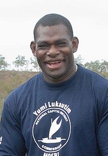 Marcus Bai PNG international rugby league footballer