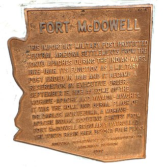 Fort McDowell, Arizona Unincorporated community in Arizona, United States