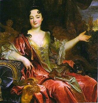 Château de Serrant - Marie Anne de La Trémoille, Duchess of Bracciano. Collection of the Prince de Merode.