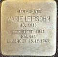Marie Leibsohn, Eckenheimer Landstr. 38, Frankfurt am Main-Nordend.jpg