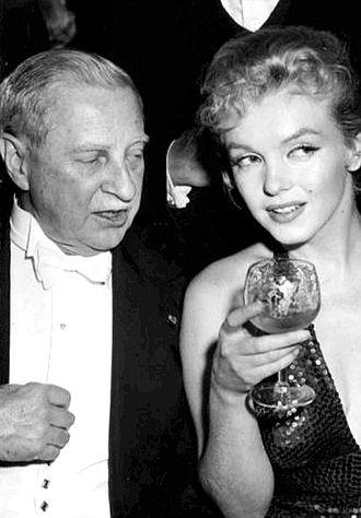 Winthrop W. Aldrich - Winthrop W. Aldrich with Marilyn Monroe, 1957