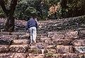 Marin Amphitheatre Mt Tamalpais with Manoj 1994 (34646832594).jpg