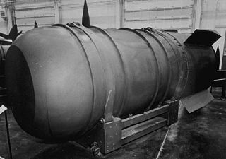 Mark 36 nuclear bomb heavy high-yield United States nuclear bomb designed in the 1950s