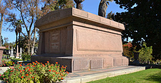 Mark Hopkins Jr. - Mark Hopkins' grave at Sacramento Historic Cemetery