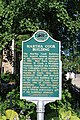 Martha Cook Building historical marker, University of Michigan, 906 South University, Ann Arbor, Michigan - panoramio.jpg
