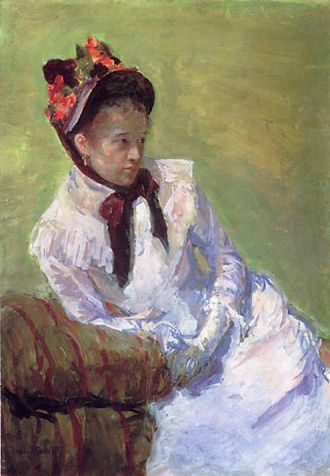 Timeline of art - Image: Mary Cassatt Selfportrait