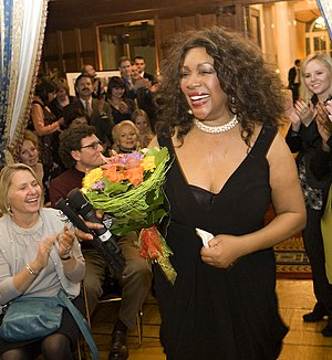 Mary Wilson (singer) - Wilson at Moscow's Spaso House on February 2, 2011