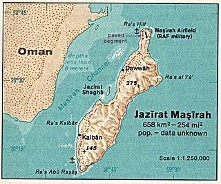 Masirah Island island in Oman