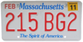 Massachusetts 2011 license plate.png