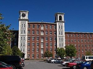Mill conversion - Massachusetts Mills Apartments, Lowell