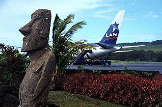 Mataveri International Airport - Image: Mataveri Airport Easter Island Chile