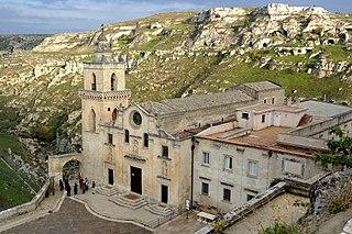 church in Matera, Italy