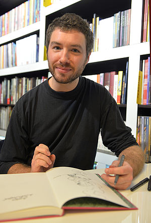 Mathieu Burniat cover