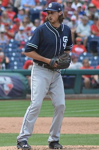 Matt Strahm - Strahm with the San Diego Padres in 2018