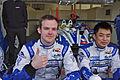 Matthew Howson and Jim Ka To Drivers of KCMG Morgan Nissan (8667970349).jpg