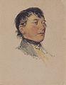 Matthias Ranftl - Porträtskizze eines Mannes - 1835-40.jpeg