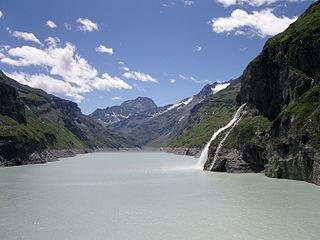 Lac de Mauvoisin reservoir