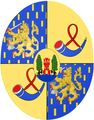 Maxima Netherlands Oranje-Nassau Personal Arms Oval Version.PNG