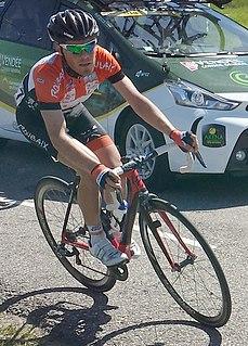 Maxime Vantomme Belgian cyclist