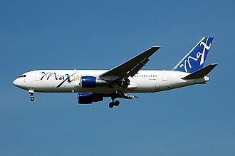 MAXjet Airways - MAXjet Boeing 767-200 in Basic Colors
