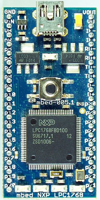 NXP LPC - mbed with NXP LPC1768