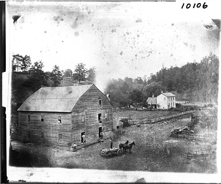 File:McDill Mill and farmhouse in 1840 (3190789353).jpg