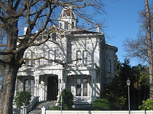 Modesto, California - The McHenry Mansion