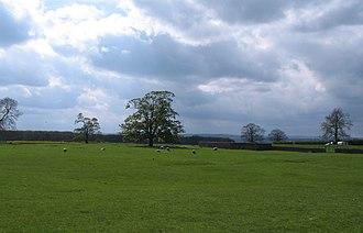 Howgrave - Image: Medieval village site, Howgrave (geograph 1850060)