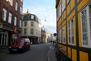 Mejlgade street in Aarhus Municipality, Denmark