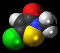 Methylchloroisothiazolinone-3D-spacefill.png