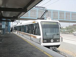 Sierra Madre Villa station - Image: Metrorail go 1