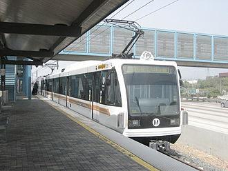 Siemens P2000 - Image: Metrorail go 1