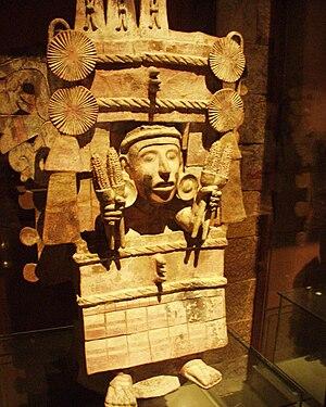 Mexico - Museo de antropologia - Dieu du maïs