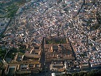 Aerial view of the Historic Centre of Cordoba